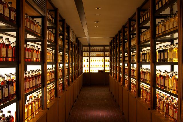 The Yamazaki Tasting Room in Kyoto