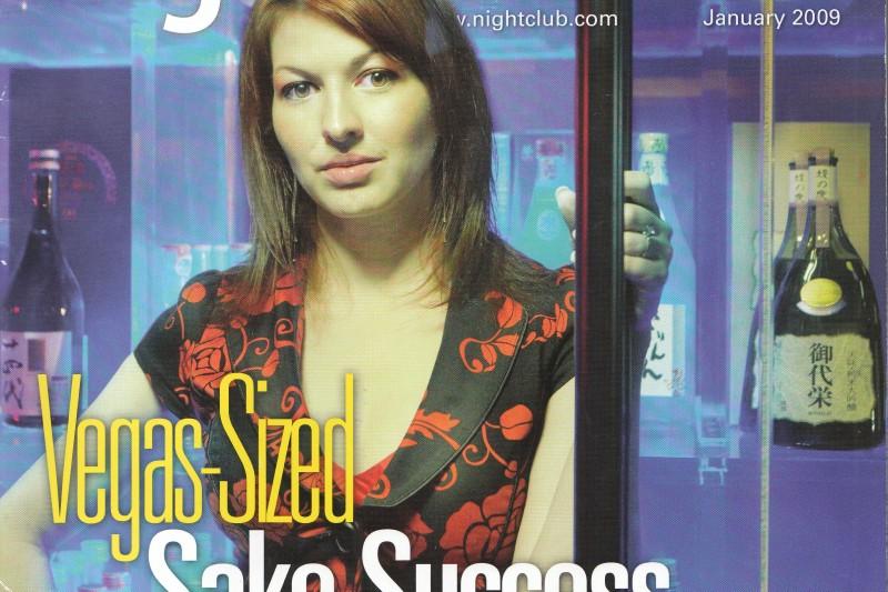 Tiffany Dawn Soto on the cover of Nightclub & Bar Magazine.