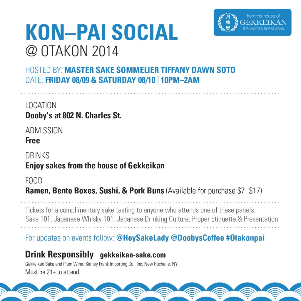 We can't wait for Otakon 2014!!!