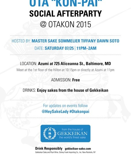 Gekkeikan invite for Karley DIGITAL